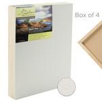"Da Vinci Pro Resist-Grip Textured Gesso Panels 2"" Panels (Box of 4) 18x18"""