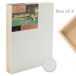 Box of 4 DaVinci Pro Panel 2in Deep Smooth Gessoboard - 24X36