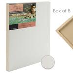 "Da Vinci Pro Ultra Smooth Gesso Panels 3/4"" Panels (Box of 6) 12x12"""