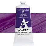 Grumbacher Academy Acrylic 90 ml Tube - Deep Violet