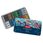 Derwent Inktense Blocks Tin Set of 36 - Assorted Colors