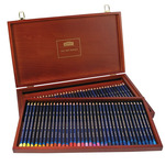 Derwent Inktense Pencils 72 Color Wood Box Set