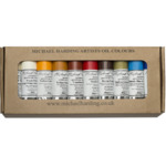 Michael Harding Handmade Artists' Oil Color Desert Set of 10, 40 ml tubes