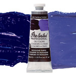 Grumbacher Pre-Tested Oil Paint 37 ml Tube - Dioxazine Purple