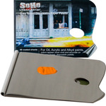 "SoHo Urban Artist Grey Toned Disposable Palette Pad w/ Thumb Hole 12x16"" - 40 Sheets"