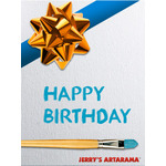 Birthday Art eGift Card - Festive - Electronic Gift Card eGift Card