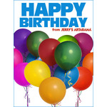 Birthday Art e-Gift Card - Balloons eGift Card