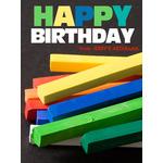 Birthday Art e-Gift Card - Chalk eGift Card