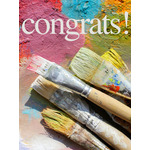 Congratulations Art eGift Card - Paint Brushes eGift Card