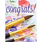 Congratulations Art eGift Card - Watercolors eGift Card