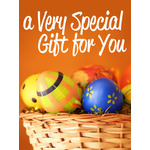 Easter Art eGift Card - Easter Egss in Basket - electronic gift card eGift Card