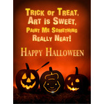 Halloween Art eGift Card - Jack O' Lanterns - electronic gift card eGift Card
