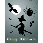 Halloween Art eGift Card - Silhouettes - electronic gift card eGift Card