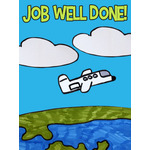 Kids Art eGift Card - Job Well Done Plane eGift Card