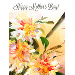 Mother's Day Art eGift Card - Watercolor Bouquet of Flowers - electronic gift card eGift Card