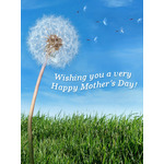 Mother's Day Art eGift Card - Dandelion - electronic gift card eGift Card