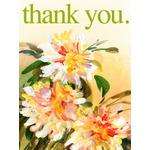 Thank You Art eGift Card - Painted Flowers eGift Card