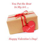 Valentine's Day Art eGift Card - Gift Box - electronic gift card eGift Card