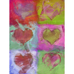 Valentine's Day Art eGift Card - Abstract Hearts 1 - electronic gift card eGift Card