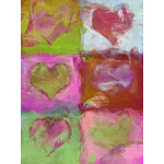 Valentine's Day Art eGift Card - Abstract Hearts 2 - electronic gift card eGift Card