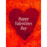 Valentine's Day Art eGift Card - Collage Heart - electronic gift card eGift Card