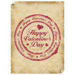 Valentine's Day Art eGift Card - Stamp On Parchment - electronic gift card eGift Card