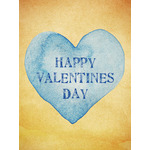 Valentine's Day Art eGift Card - Vintage Heart - electronic gift card eGift Card