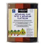 Sargent Art 1lb Non-Hardening Modeling Clay Earth Colors