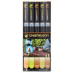 Chameleon Marker Set Of 5 - Earth Tones
