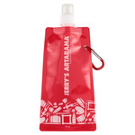 Eco-Friendly Collapsible Water Bottles with Jerry's Logo