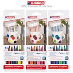 Edding 4200 Porcelain Brush Pens