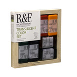 R&F Encaustic Handmade Paint - Translucent Color Set 40 ml Blocks