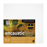 "Ampersand Encausticbord 7/8"" Cradled Panel 10x10"""