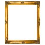Classical Frame 18x24in Gold Leaf European Style Frame