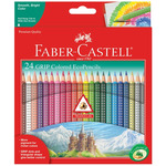 Faber-Castell GRIP Color EcoPencils Set of 24 - Assorted Colors