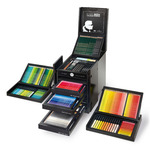 KARLBOX Limited Edition Colours In Black 350 Piece Box Set- Faber-Castell