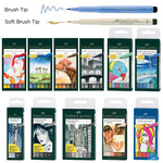 Faber-Castell Pitt Brush Pen Wallet Sets