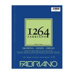 Fabriano 1264 Drawing 90lb (40-Sheet) Spiral Pad 9x12
