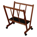 Creative Mark Firenze Large Wood Print Rack French Walnut