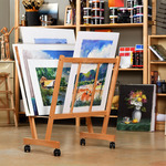 Firenze Large Wood Print Racks by Creative Mark