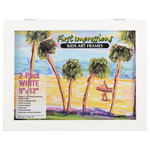 First Impressions Kids Art Frame 9 x 12 in White Pack Of 2