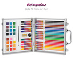 First Impressions Kids 78 Piece Art Set