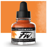 Daler-Rowney F.W. Acrylic Ink 1oz - Flame Orange