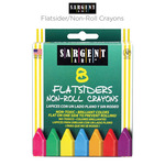 Sargent Art Flatsider/Non-Roll Crayons