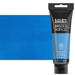 Liquitex Basics Acrylics 4oz Fluorescent Blue