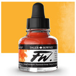 Daler-Rowney F.W. Acrylic Ink 1oz - Fluorescent Orange