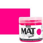 Pebeo Acrylic Mat Pub 140ml - Fluorescent Pink
