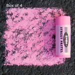 Box of 4 Soho Jumbo Street Pastels Fluorescent Pink