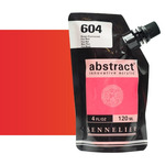 Sennelier Abstract Acrylic Fluorescent Red 120ml
