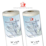 Fredrix Archival Watercolor Canvas Rolls